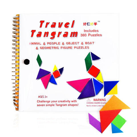 Jigsaw Puzzle Magnetic Travel Educational Book For Kids - Mr.Canadian.Traveler
