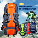 80L Large Backpack
