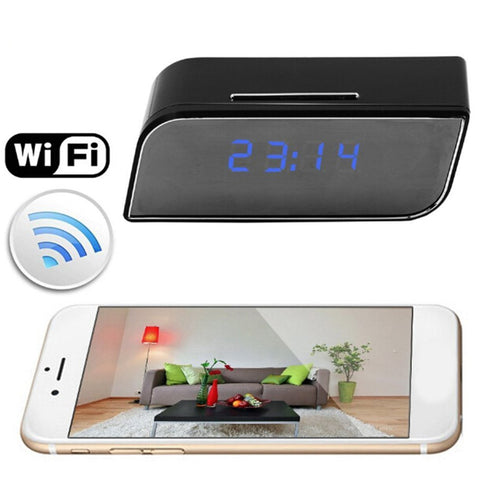 Wifi IP Camera 1080 Full HD Clock Alarm Home Security - Mr.Canadian.Traveler