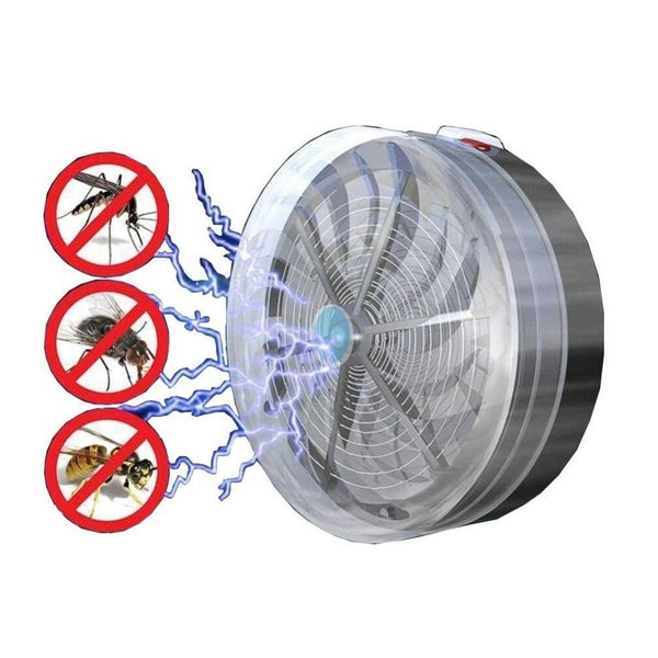 Solar Powered Mosquito Zapper