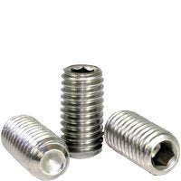 #0-80X1/16  Stainless 18 8 Cup Point Socket Set Screw (Inch) | Size: #0-80 | Length: 1/16  | Material: Stainless_Steel_18-8 | Finish: | Fine Thread | (Quantity: 100)