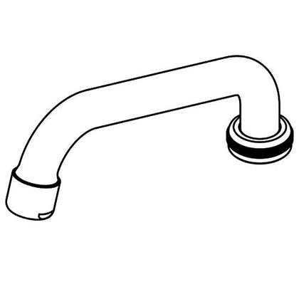 Central Brass Su2924A Two Handle Faucet 6-1/8 Spout Aerator