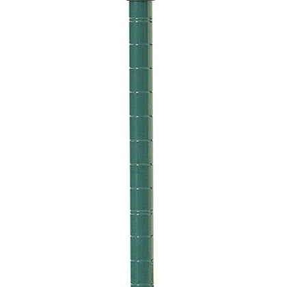 Commercial Green Epoxy Wire Shelving Posts 63  - 4 Posts