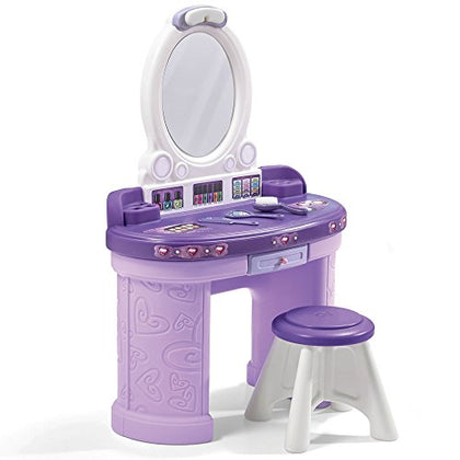 Step2 Pretty &Amp; Posh Kids Vanity Set With Stool