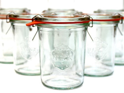 5.4 Oz Weck 760 Canning Jar; Set Of 12!