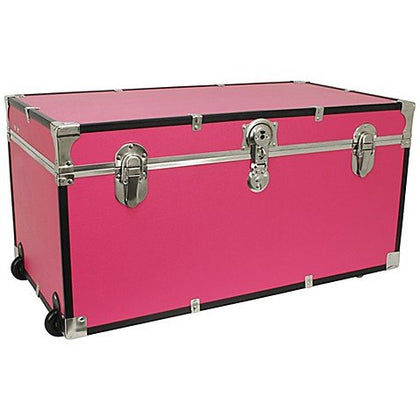 Bbb Mercury Luggage/Seward 31-Inch Oversized Storage Trunk In Pink