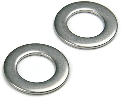 #0-801 Ms Flat Washers, Id .078, Od .187, Tk .025, 18-8 Stainless Steel - Qty-1000