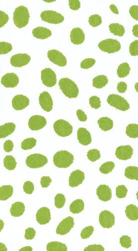 Caspari Paper Hand Towels Party Supplies Bridal Shower Wedding Baby Shower Green Dots Pk 30