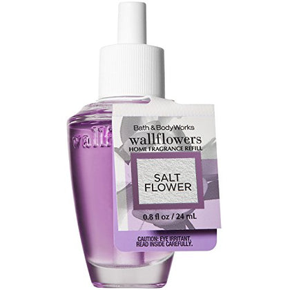 Bath And Body Works Salt Flower Wallflowers Home Fragrance Refill 0.8 Fluid Ounce