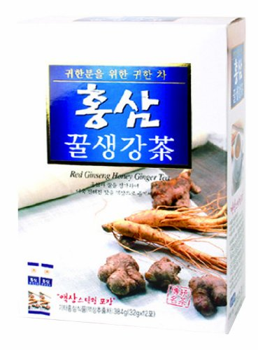 Korea Insam Red Ginseng Honey Ginger Tea 32G X 12T