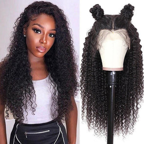 24 inch Brazilian black instant noodle roll lace wig
