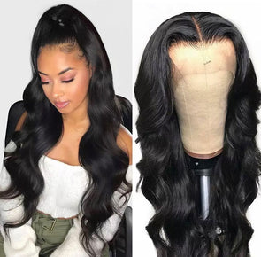 Brazilian red 24 inch lace wig