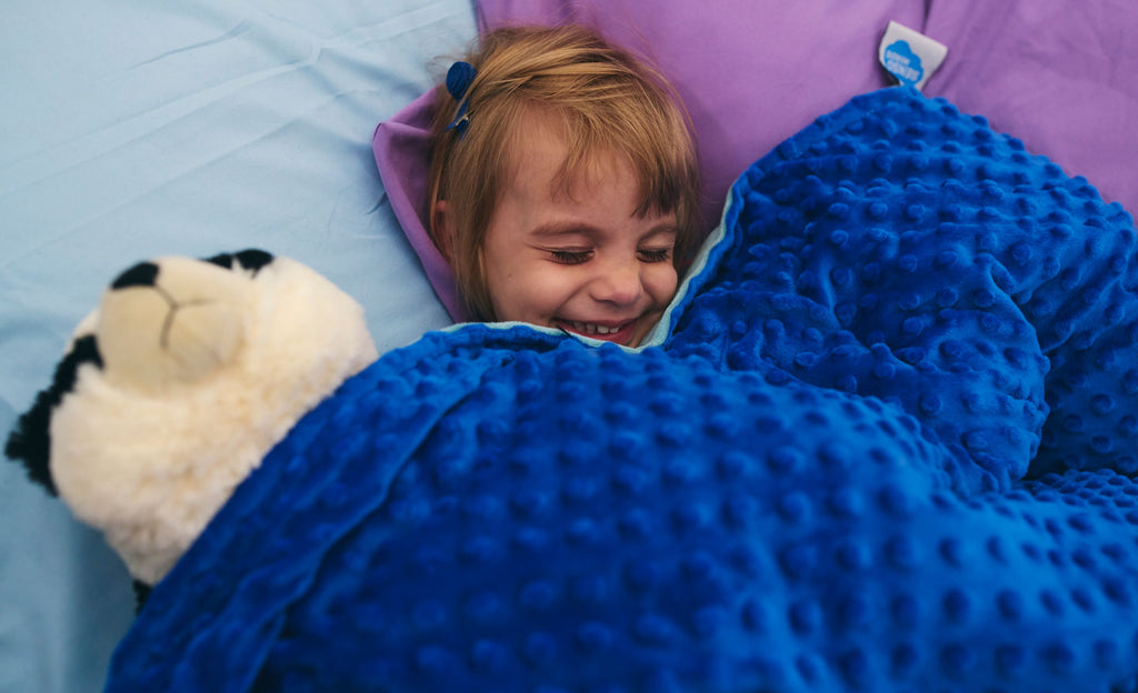 Finding the right weighted blanket for sensory seekers