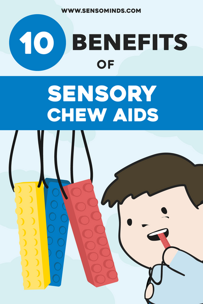 10 Benefits of Sensory Chew Toys For Kids