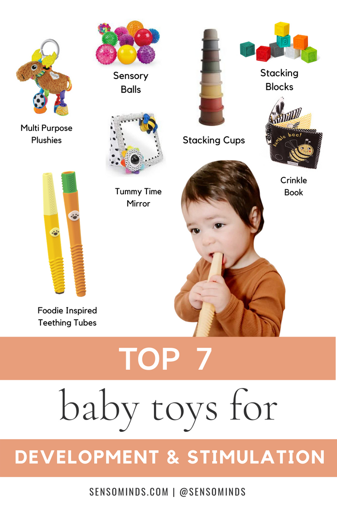 Best Baby Toys for Development & Stimulation & Sensory