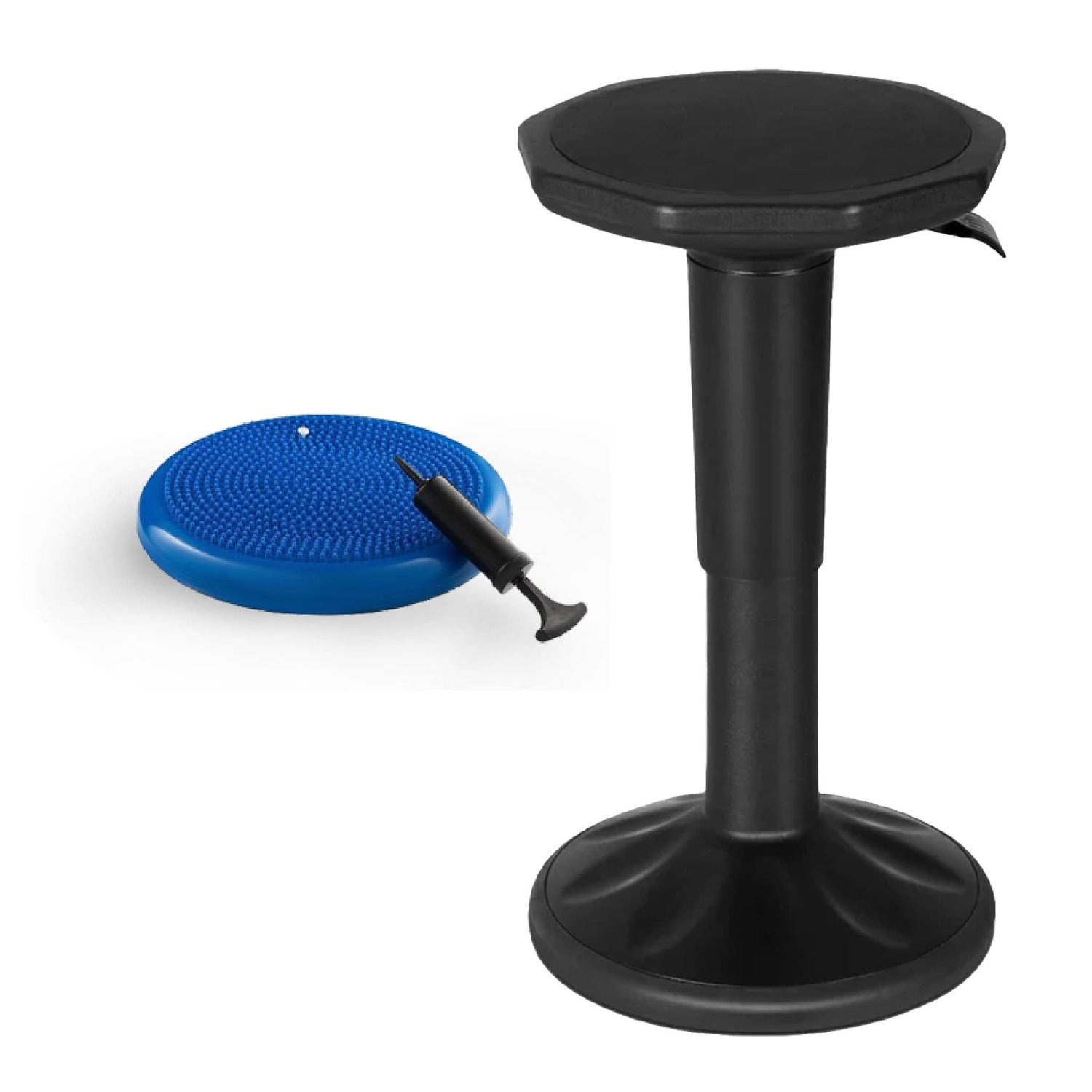 Sensory Wobble Chair + BONUS Wobble Cushion (Adjustable from 16.5