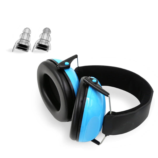 Sensory Earmuffs + BONUS Noise Reducing Earplugs