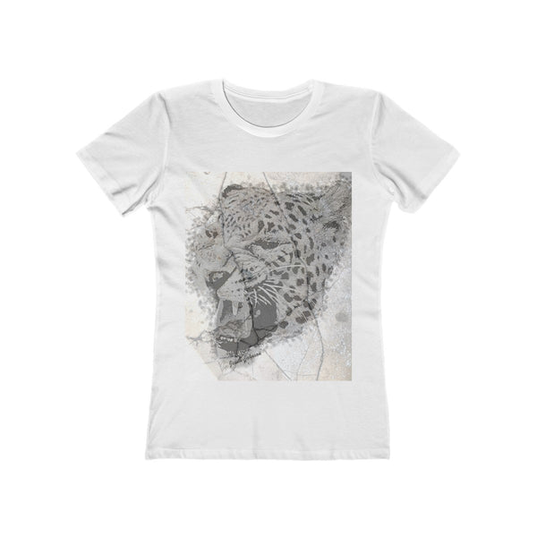 Crew neck fashion t shirt tiger graphic print
