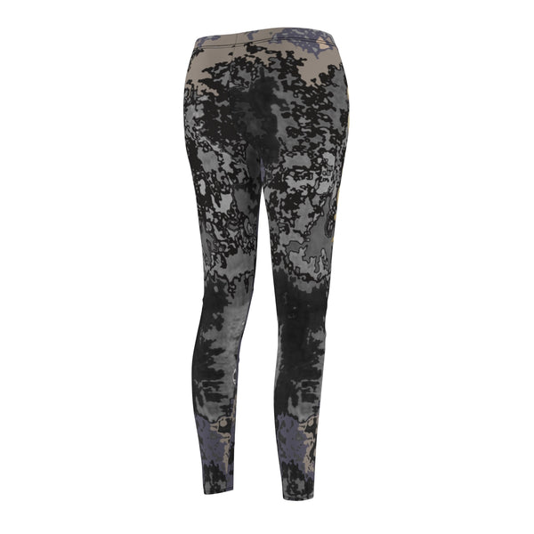 Leggings women s Casual yoga gym Camouflage print Power graphic Plus size