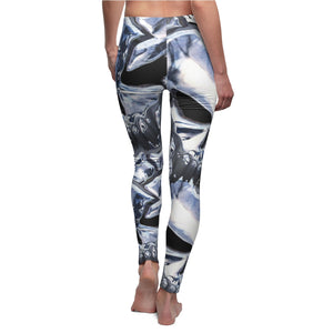 Leggings Casual Women's Biker Rocker Yoga Sexy High waist thigh skull Chic Bikers