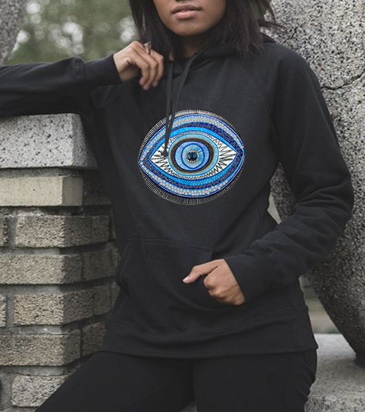 Unisex Heavy Blend™ Hooded Sweatshirt evil eye graphic Plus size Hoodies