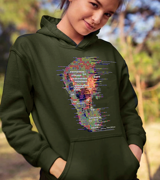 Unisex  Heavy Blend™ Hooded Sweatshirt colorful skull PLus size