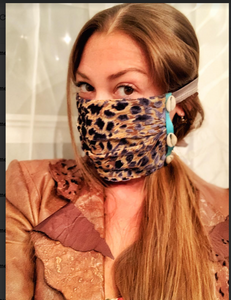 Hand made fashionable mask, trendy mask, bohemian mask, gypsy mask, indian trims mask
