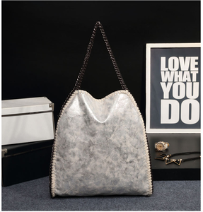 Women Handbag Vintage PU Leather Fashion Chain Shoulder Bags for Women Messenger Handbags Women's Totes