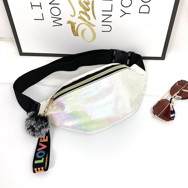 Women Waist Fanny Pack Belt Bag Pouch Hip Bum Bag Travel Sport Small Purse