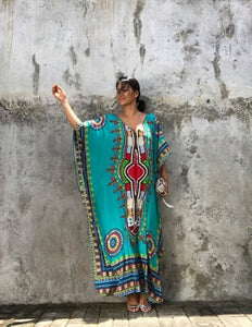 Beach Long Dress Sarongs Cover-ups Swimwear