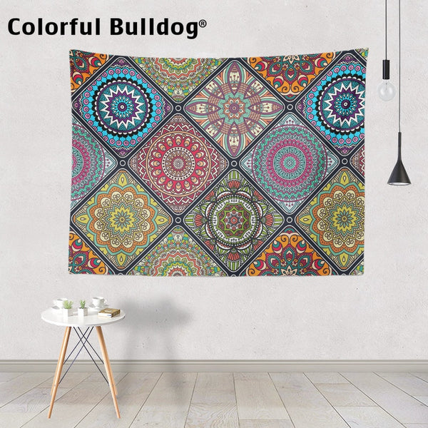 Bohemian Tapestry Mandala Wall Hanging Home Decoration Blanket Farmhouse