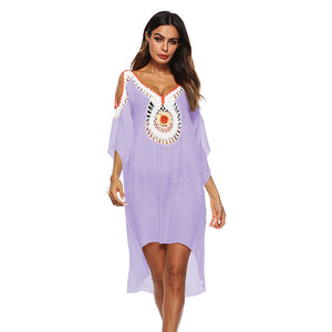 Beach Cover Up For Women Summer Beach Dress Wear Bikini
