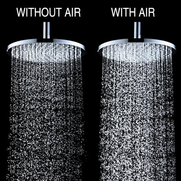 Air Induction Rain Shower Heads – The Next Step in Shower Technology?