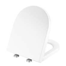 Load image into Gallery viewer, MUZT Deluxe Soft Close Quick Release Toilet Seat - Coral D Shaped