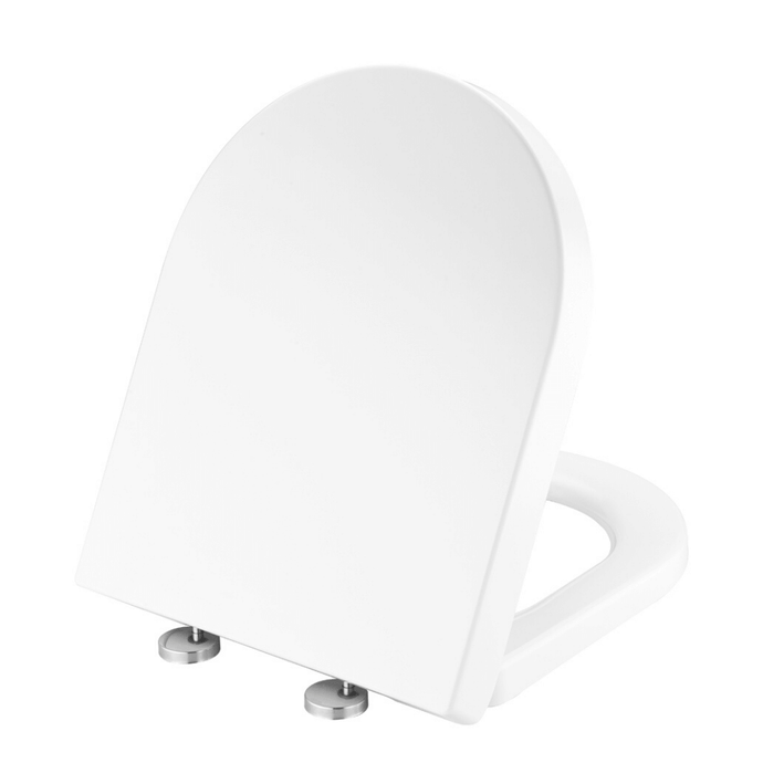 MUZT Deluxe Soft Close Quick Release Toilet Seat - Coral D Shaped