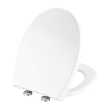Load image into Gallery viewer, MUZT Deluxe Soft Close Quick Release Toilet Seat - Pearl (Oval Shaped)