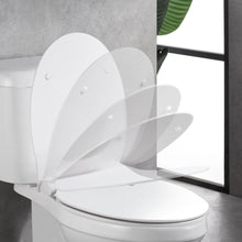 Load image into Gallery viewer, MUZT Deluxe Soft Close Quick Release Toilet Seat - Opal (Oval Shaped)