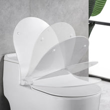 Load image into Gallery viewer, MUZT Deluxe Soft Close Quick Release Toilet Seat - Seashell (Slim Designed D Shaped)