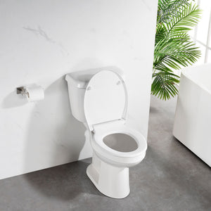 Deluxe Soft Close Quick Release Toilet Seat – Pearl