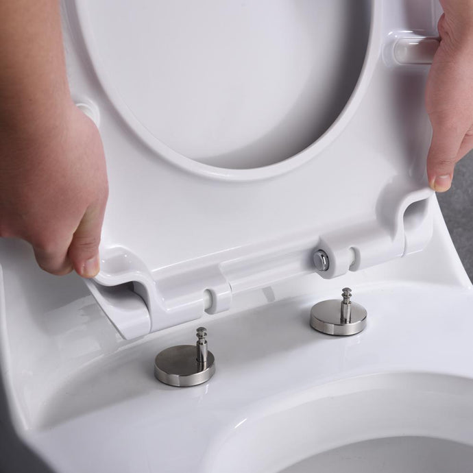 Deluxe Soft Close Quick Release Toilet Seat - European Design - MUZT