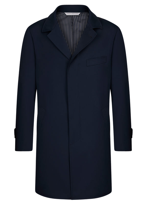 Manteau double face Carlton marin