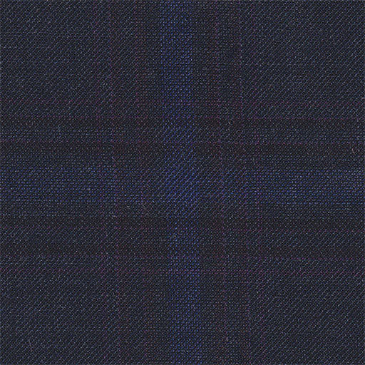 Navy Plaid Soft Jacket