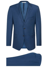 Canadian made High Blue Ice Wool Suit from Samuelsohn