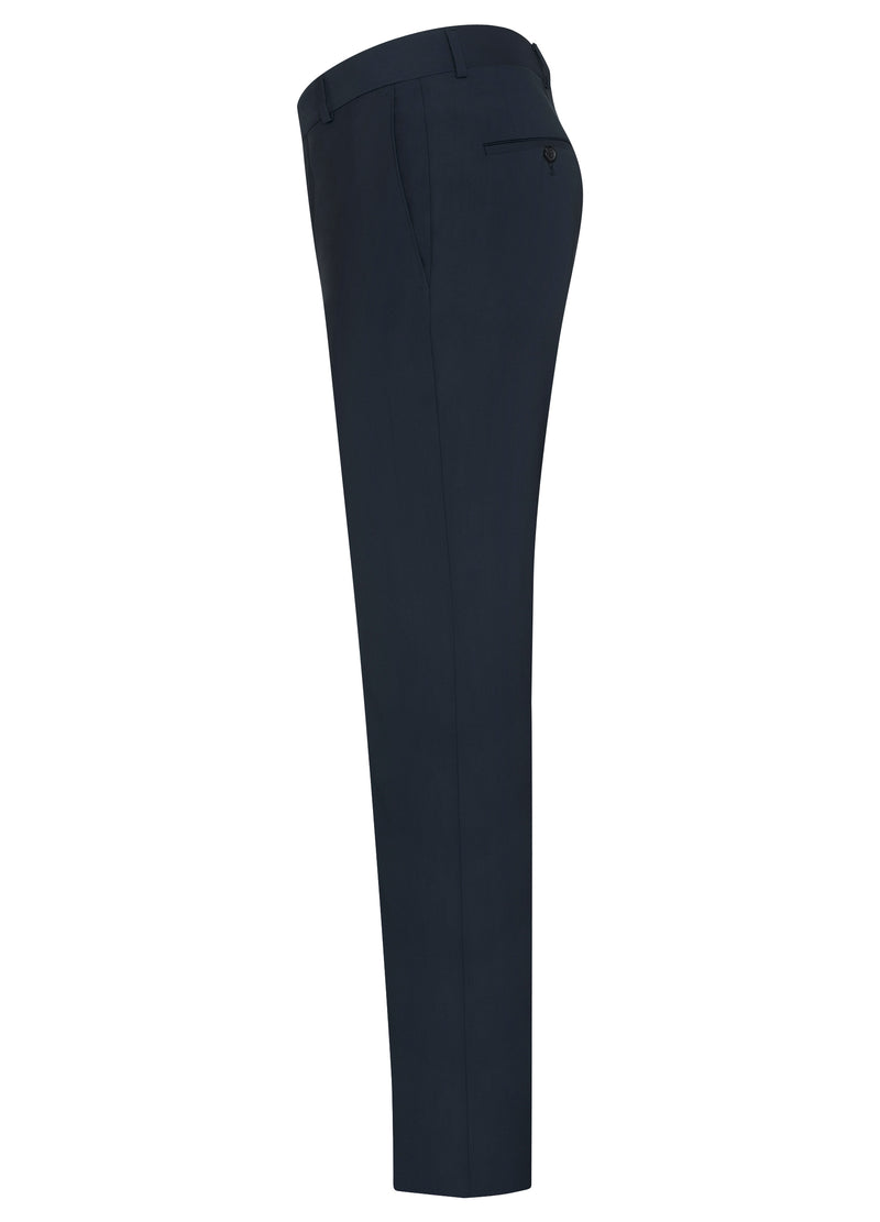 Navy Ice Wool Suit - Classic Fit