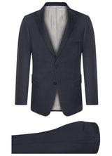 Canadian made Navy Modern Suit from Samuelsohn