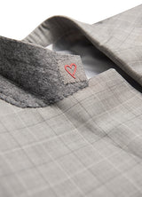 Light Grey Glencheck Suit
