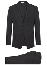 Dark Grey Glencheck Dream Tweed Suit