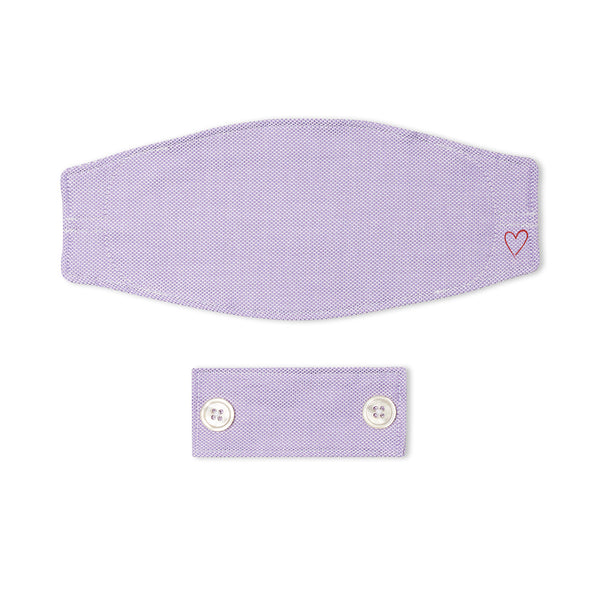 Purple Oxford Mask