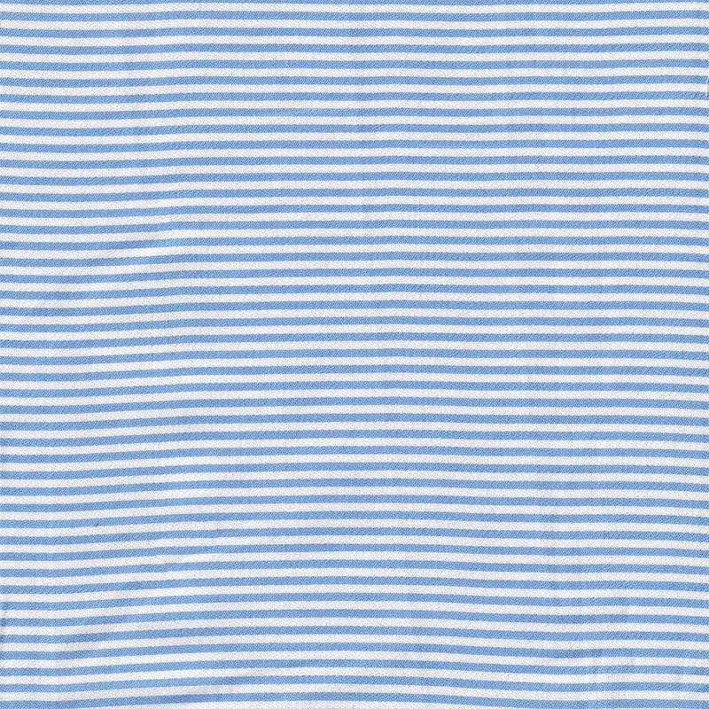Canadian Made Sky Blue Pencil Stripe Mask from Samuelsohn