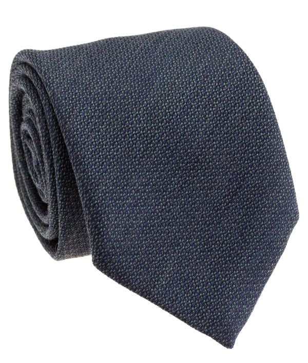 Green Silk Wool Neck Tie